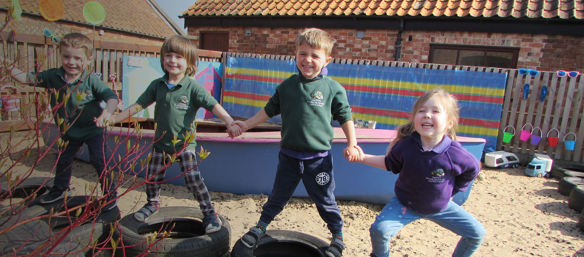 Welcome to Inn Farm Private Day Nursery